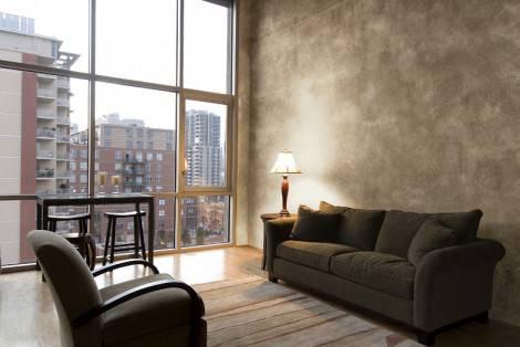 Idee arredamento decorazione pareti effetto velato for Pareti effetto spugnato