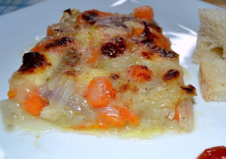 carote gratinate