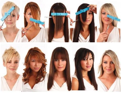 Tutorial taglio capelli medio corti