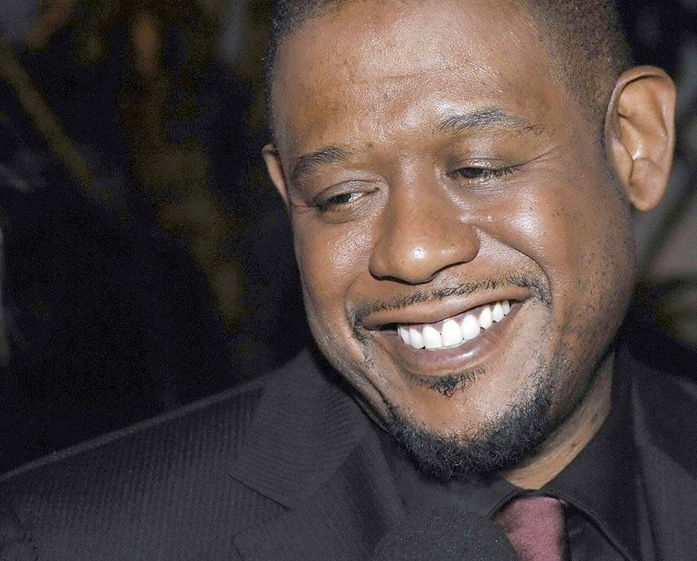 Cinema intervista all 39 attore forest whitaker for Personaggi famosi di colore