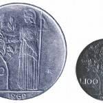 Vecchie lire in monete: ecco quanto possono valere