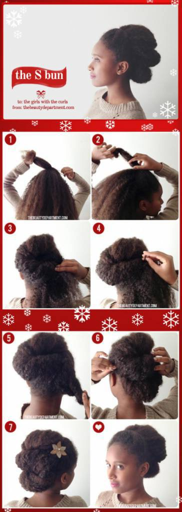 tutorial raccolta capelli