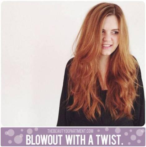 capelli mossi con spazzola