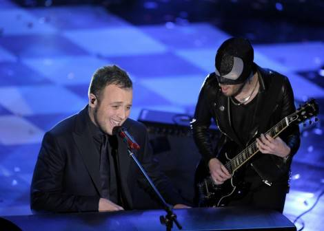 Raphael Gualazzi & THe Bloody Beetroots (Fonte foto: Repubblica.it)
