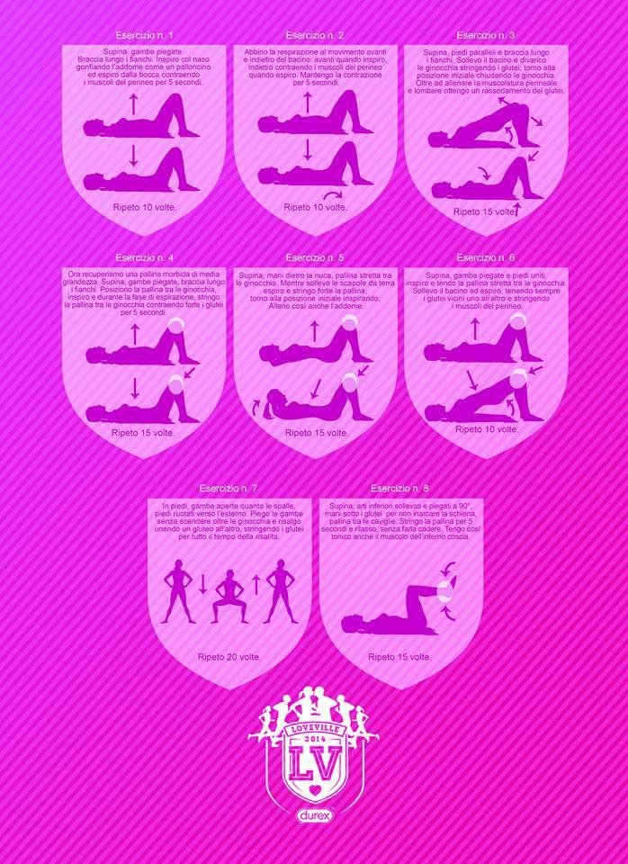 8 Esercizi Per Migliorare Il Piacere Sessuale
