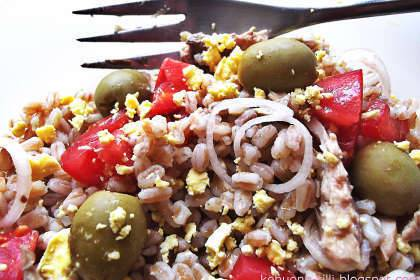 insalata light farro