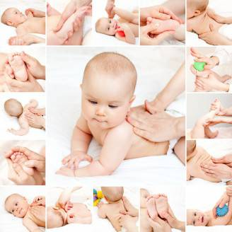 Baby massage  collection