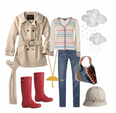 Outfit del giorno: rainy spring style!