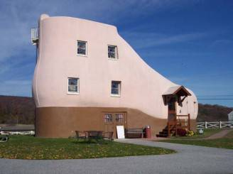 Haines-shoe-house