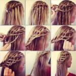 Tutorial capelli: treccia a cascata super originale!