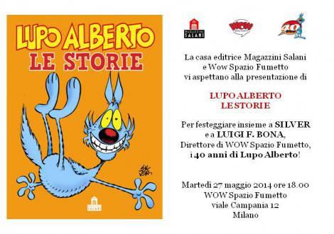 Invito Lupo Alberto - Milano