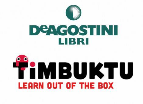 Logo DeA Libri Logo Timbuktu