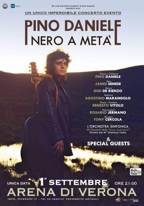 Pino Daniele_locandina Vertic Nero a metà_B