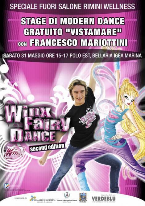 Winx Fairy Dance_a Bellaria per FuoriSalone Rimini Wellness