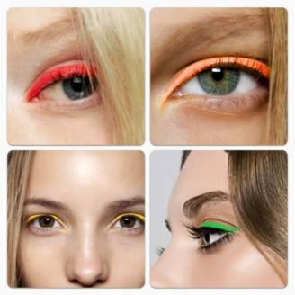 eye liner fluo