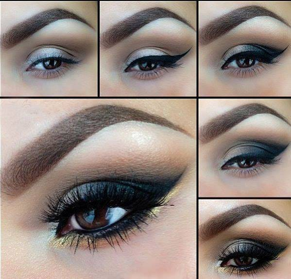 Famoso Make up da sera: 10 tutorial per uno sguardo intenso e  HC71