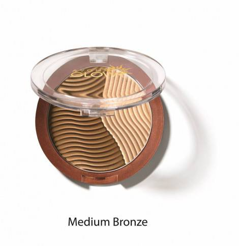 Avon Glow_Duo terra solare compatta e illuminante_medium bronze