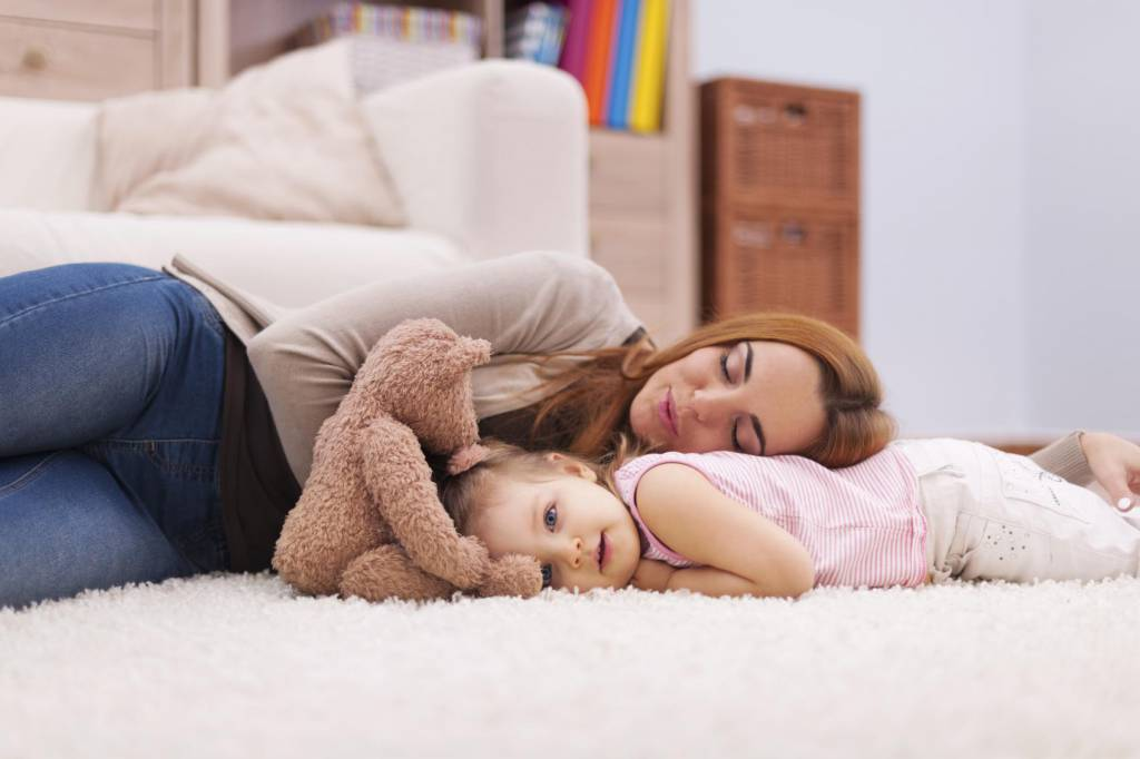 Perchè è importante restare accanto ai figli finchè non si addormentano