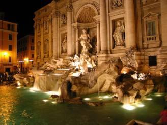notte-fontana-di-trevi