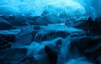 caverne ghiaccio mendenhall