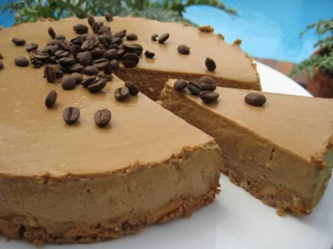 torta al cappuccino