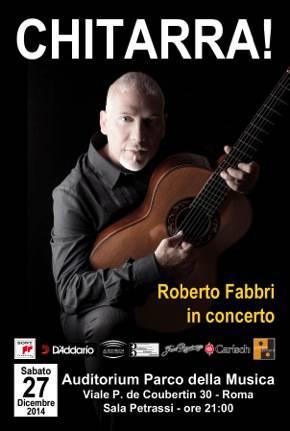 ROBERTO FABBRI_locandina Auditorium