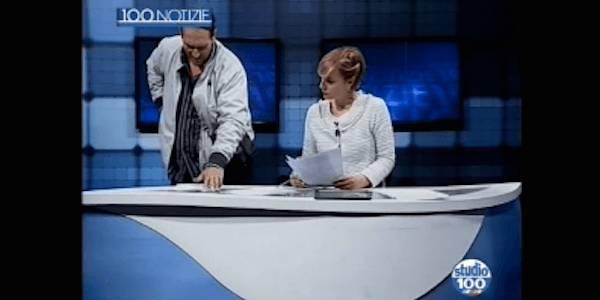 taranto-studio-tv-100-telegiornale-uomo-armato-uomo-armato-irrompe-al-tg