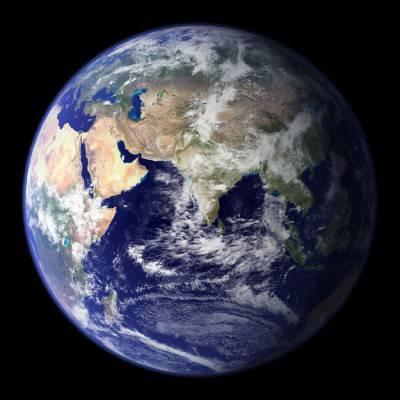 Questo è il nostro pianeta, la Terra.