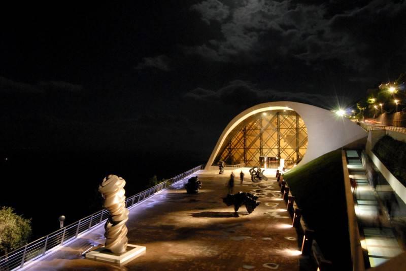Auditorium Oscar Niemeyer - ph Pino Izzo