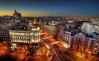 Madrid-City-at-Night