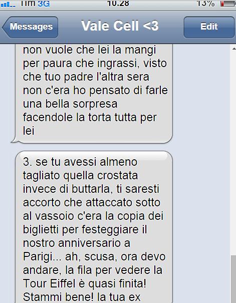 Vale cell risp2 Copy Lui la lascia con un sms, ma la risposta di lei è formidabile! Ti stimo!!