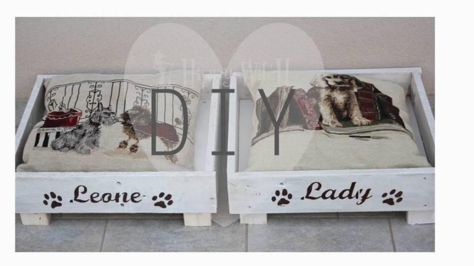 Una cuccia per fido con il riciclo creativo for Cuccia cane fai da te legno