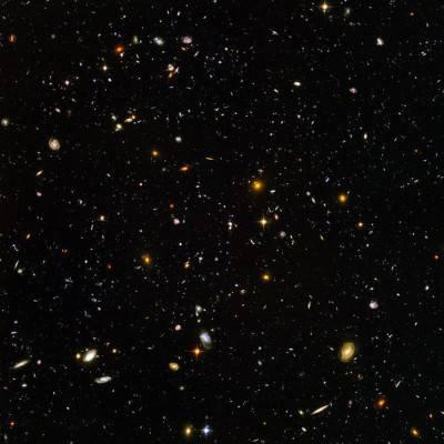 Migliaia di Galassie, immortalate dal telescopio Hubble.