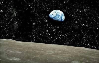 La Terra vista dalla Luna.