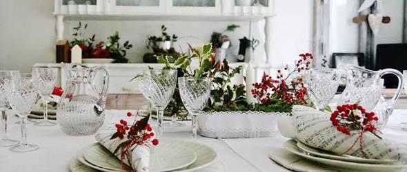 Foto gallery tavole natalizie belle ed originali - Foto tavole natalizie ...