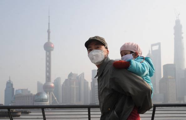 Heavy Smog Hits China