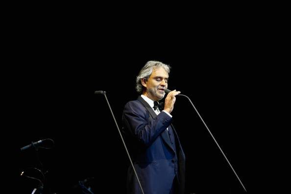 Andrea Bocelli Performs In Auckland