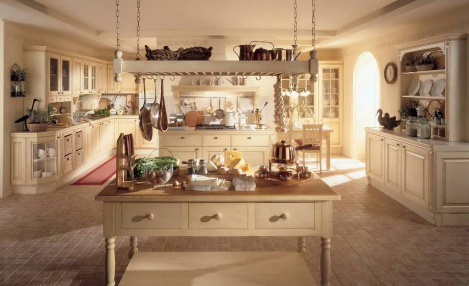 Awesome Le Piu Belle Cucine Country Ideas - Ideas & Design 2017 ...