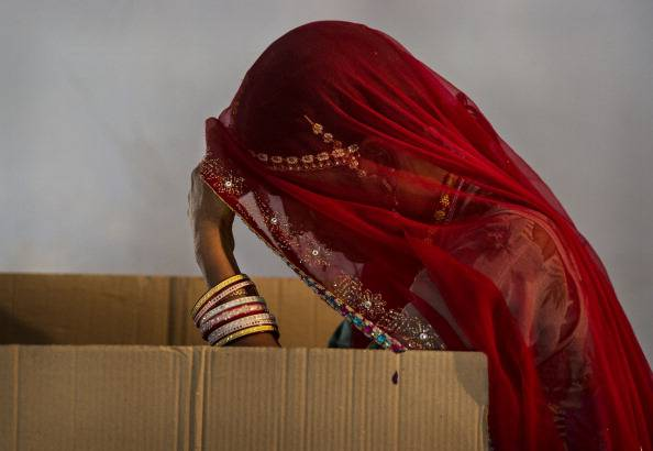 Indians Cast Votes On Biggest Polling Day
