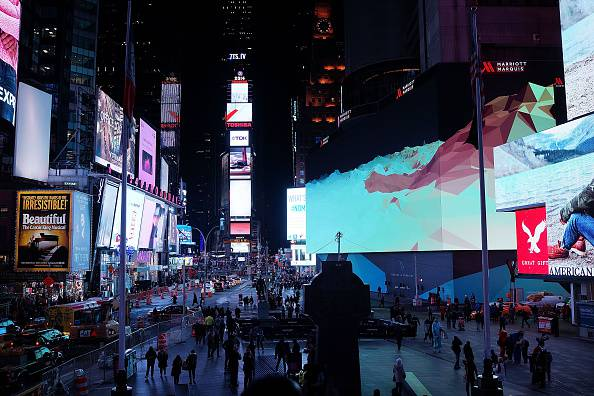 New Eight-Story Tall Digital Billboard Leased By Google In New York City's Times Square