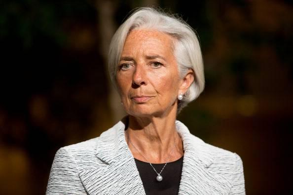 IMF Director Lagarde Speaks On Aid Package For Ukraine