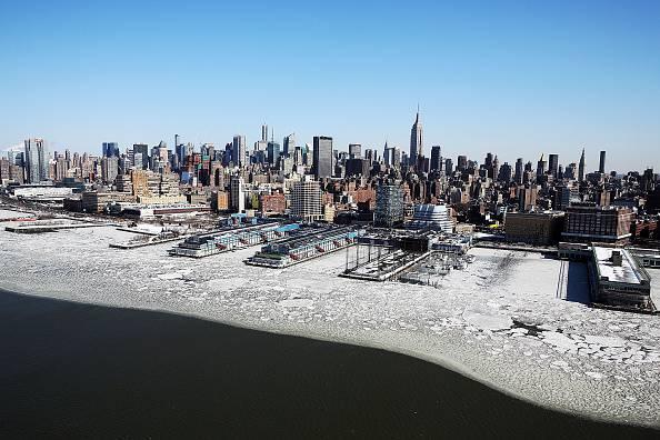Hudson River a Manhattan @Getty images