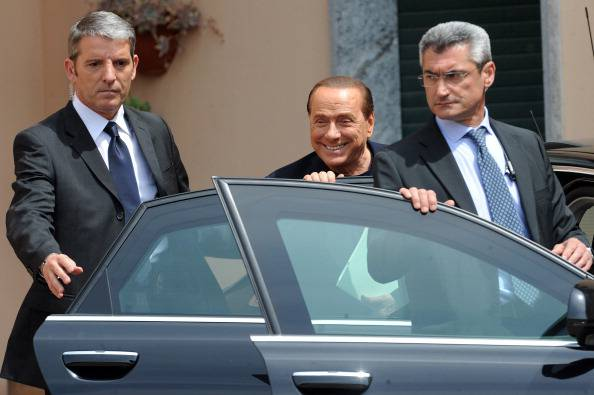 Silvio Berlusconi Starts Serving His Sentence At Fondazione Sacra Famiglia In Cesano Boscone