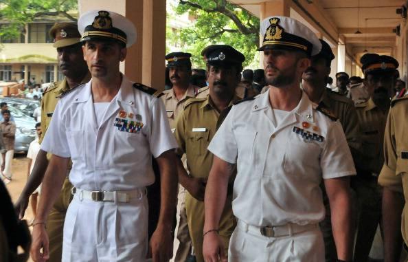 Italian marines Latore Massimiliano (2L)