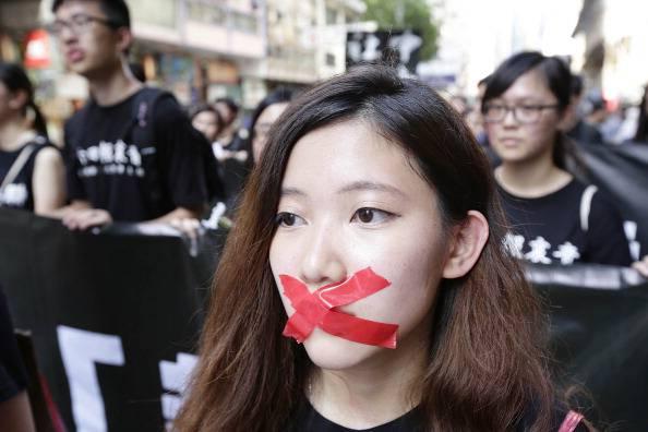 Hong Kong Protests Mark 25 Year Anniversary Of Tiananmen Square