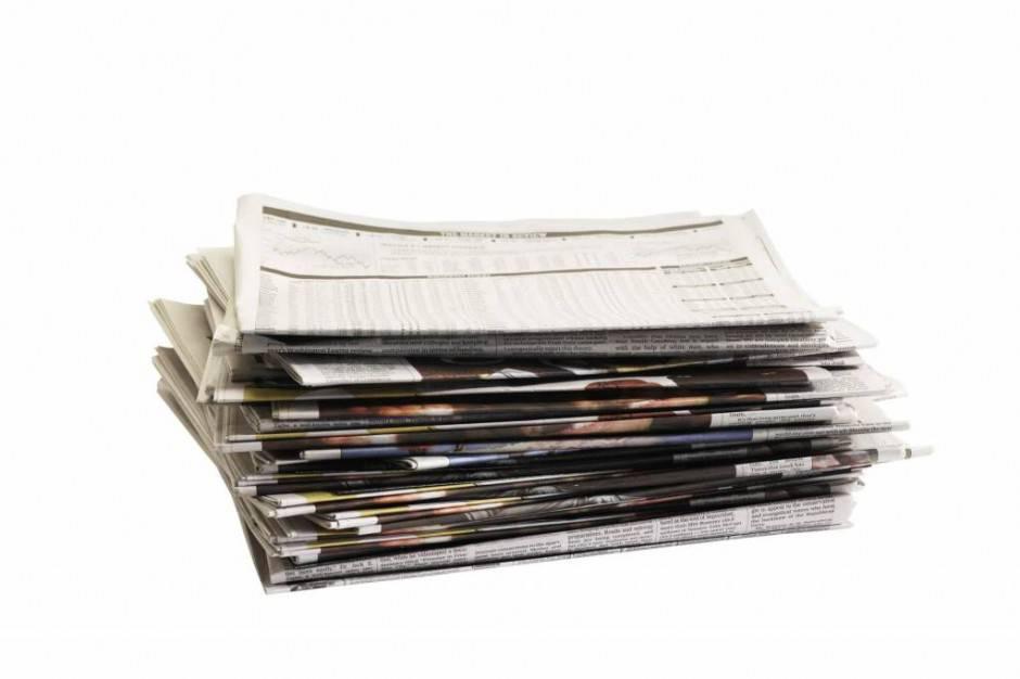 riciclo giornali