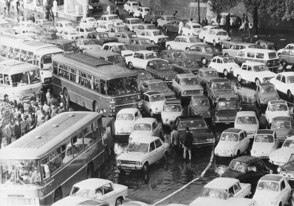 Roman Traffic Jam