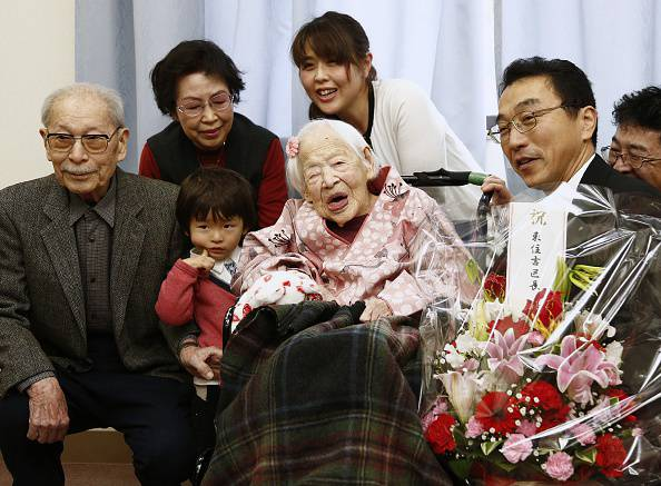 JAPAN-LONGEVITY-HEALTH-GUINNESS
