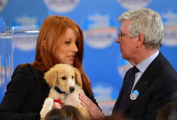 ITALY-VOTE-DOG-ANIMAL