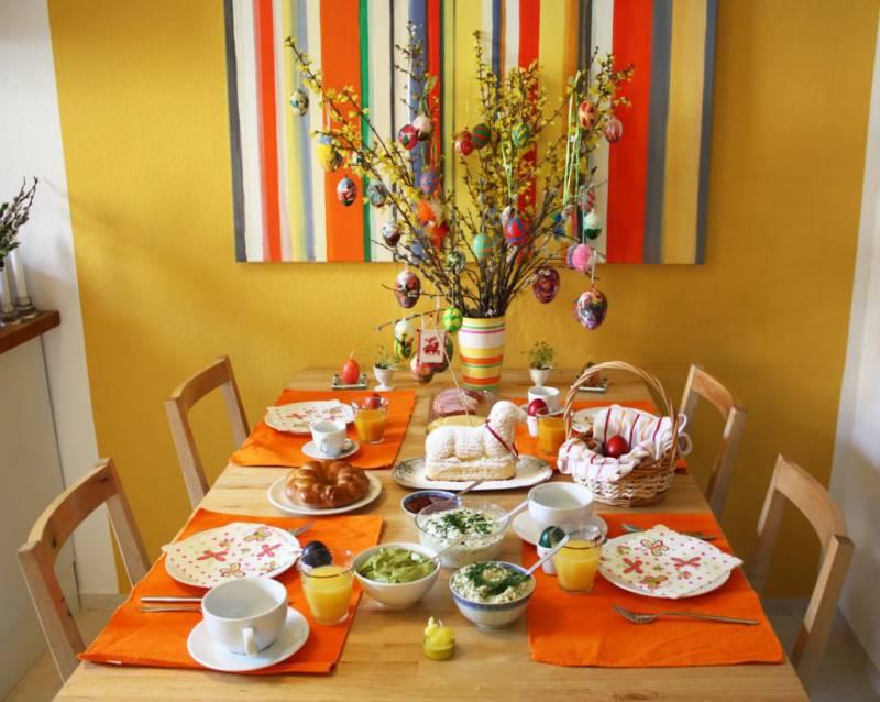 Foto gallery idee creative per decorare la tavola pasquale - Tavola valdese progetti approvati 2015 ...
